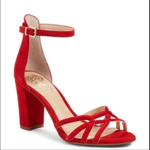 Vince Camuto red heel 7.5